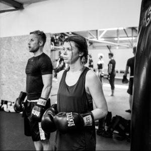 Frauen; Kämpfen; Boxen; Fighting Ladies